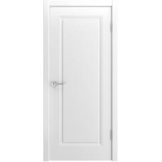 Ульяновская дверь Лацио-111 белая эмаль ДГ