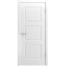 Ульяновская дверь Лацио-333 белая эмаль ДГ