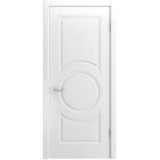 Ульяновская дверь Лацио-888 белая эмаль ДГ