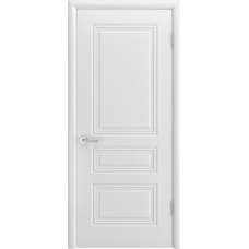 Ульяновская дверь Турин-С белая эмаль ДГ