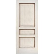 Ульяновские двери Альба ясень карамельный с патиной ДГ