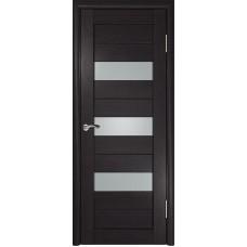 Дверь экошпон ЛУ-23 венге