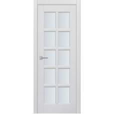 Межкомнатная дверь Турин-13 белая эмаль ДО