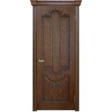 Ульяновские двери Калипсо тон орех-2 ДГ
