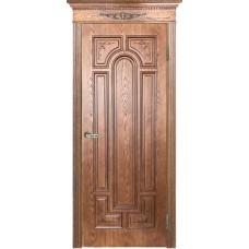 Ульяновские двери Нимфа тон орех-2 ДГ