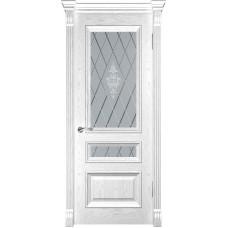 Ульяновские двери Фараон-2 дуб белая эмаль ДО