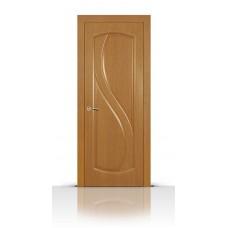 Дверь СитиДорс модель Диамант цвет Анегри светлый