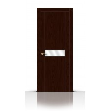 Дверь СитиДорс модель Турин-1 цвет Ясень шоколад зеркало