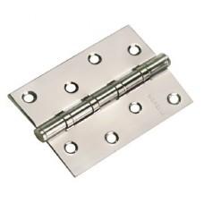 MORELLI Петля стальная универсальная MS 100X70X2.5-4BB Белый никель SN