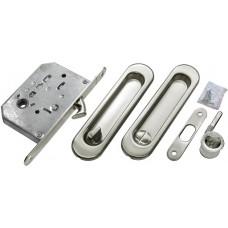 MORELLI Комплект для раздвижных дверей MHS150 WC Матовый хром SC