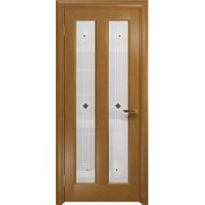 Дверь DioDoor Тесей анегри белое пескоструйное Ромб