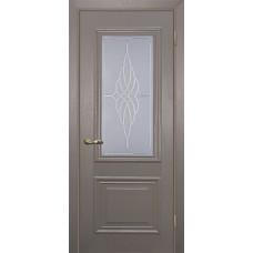 Дверь МариаМ Классик-1 Каменное дерево стекло