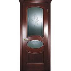 Ульяновские двери Фрейм 04 красное дерево ДО